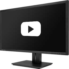 TV screen with YouTube logo