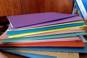 photo of various paper folders