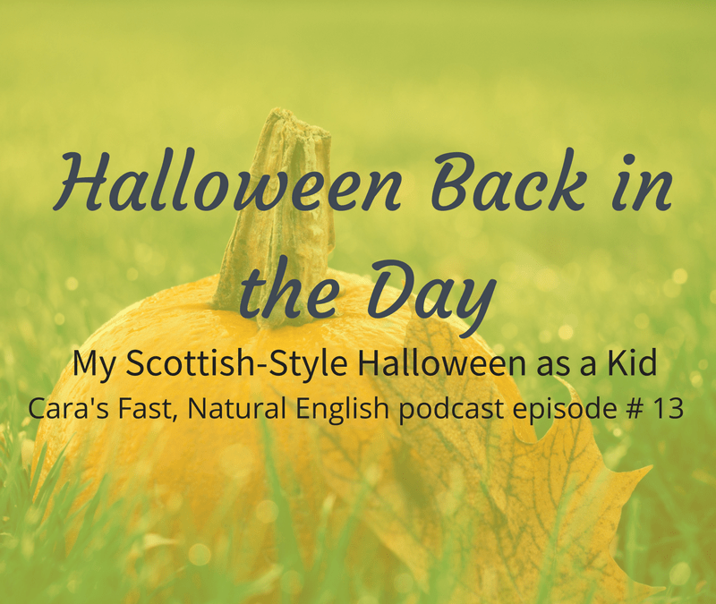 Podcast #13: Halloween Back in the Day