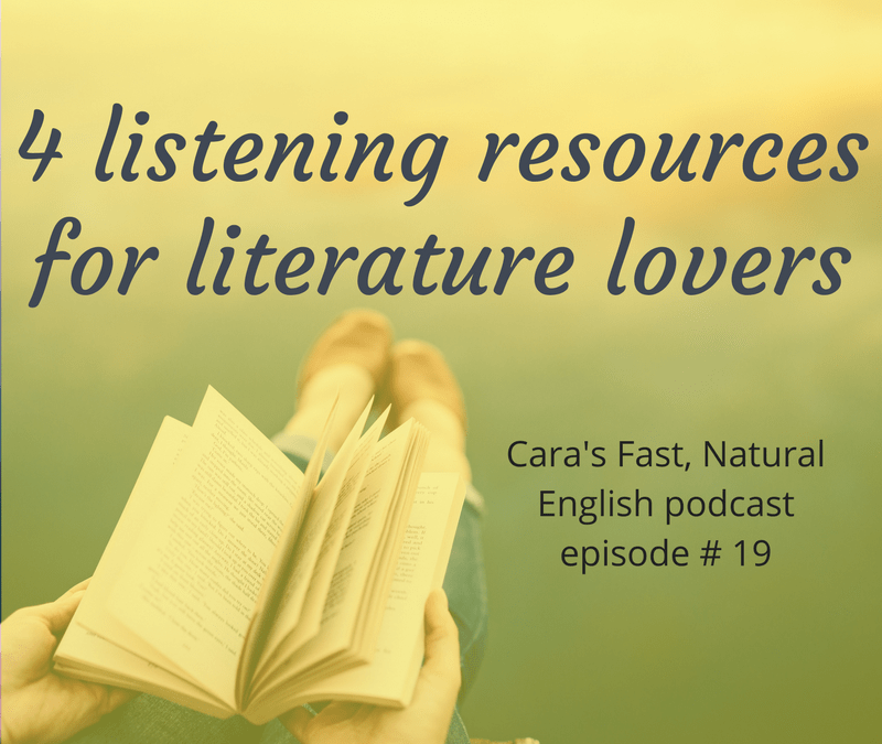 4 listening resources for literature lovers