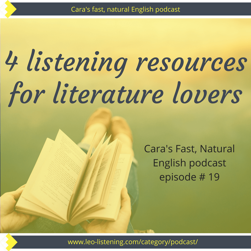 4 English listening resources for bookworms | Leo Listening