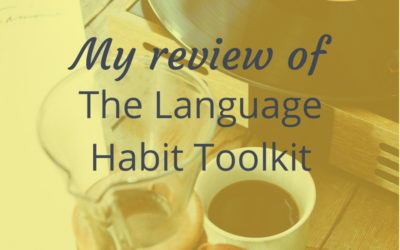 My review of the language habit toolkit