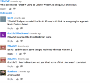 Forest Whitaker comments