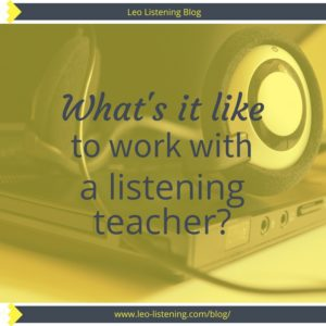 what's it like to work with a listening teacher
