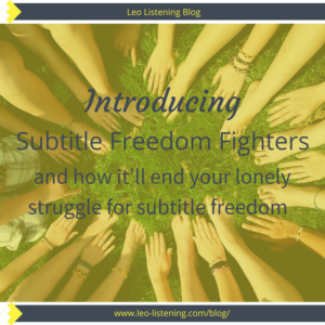 Blog Image - Intro Subtitle Freedom Fighters