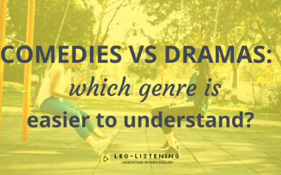 Comedies vs dramas: which genre is easier to understand?
