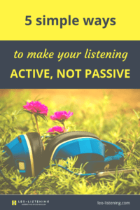Pin for 5 simple ways to make your listening active, not passive