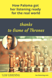 Pin for How Paloma got her listening ready for the real world thanks to Game of Thrones