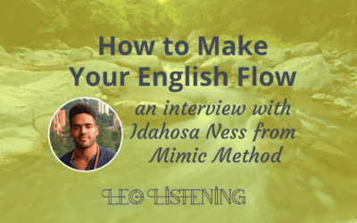 How To Make Your English Flow