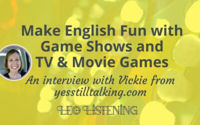 How to Make English Fun with Game Shows and TV & Movie Games