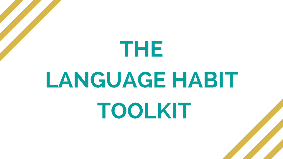 The Language Habit Toolkit cover