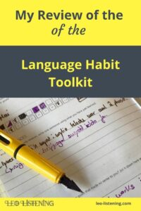 my review of the language habit toolkit vertical