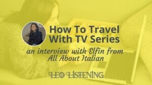 how to travel with TV series horizontal
