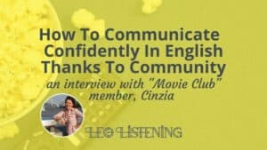 how to communicate confidently in English thanks to community