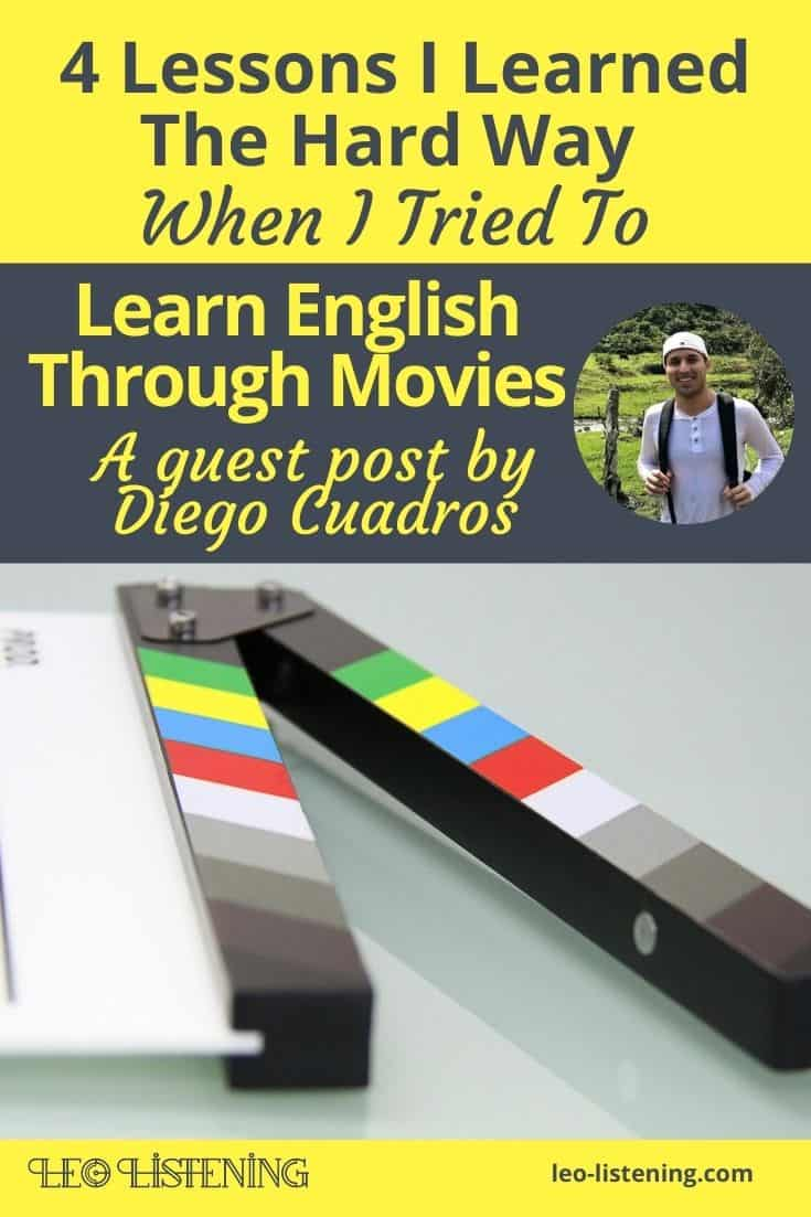 4 Lessons I Learned The Hard Way When I Tried To Learn English Through Movies vertical